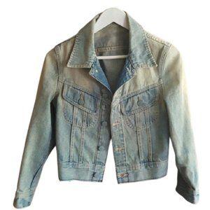 *host pick* Wilfred faded jean denim crop jacket